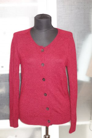 Org. ISABEL MARANT Cardigan aus baby Alpaca in rot Gr.36