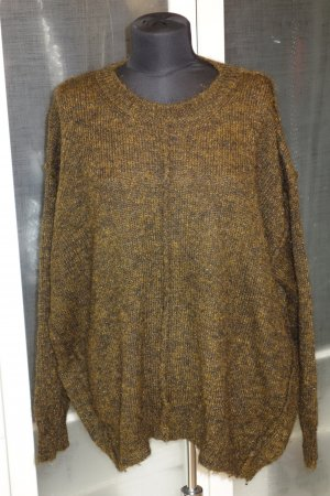 Org. ISABEL MARANT oversized Pullover Lurex/Mohair Gr.36 top