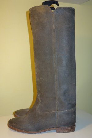 Org. ISABEL MARANT Runway Stiefel in taupe Gr. 40 NEU