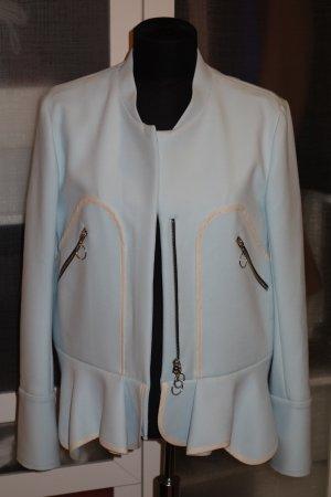 Org. ISSA Runway Jacke in babyblau Gr.38 NEU+Etikett