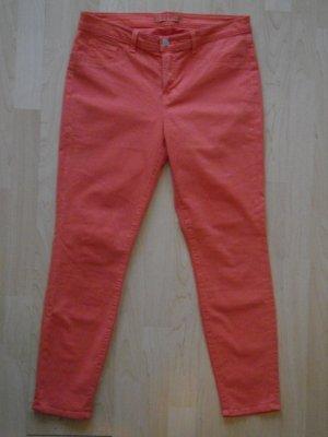 Org. J BRAND Capri Skinny Jeans neon orange Gr.31