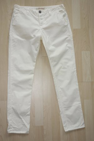 "Org. J BRAND Chino ""Inez"" in hell-gelb Gr.26 top"