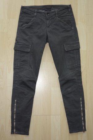 Org. J BRAND skinny Cargo Pant in dunkelgrau Gr.27