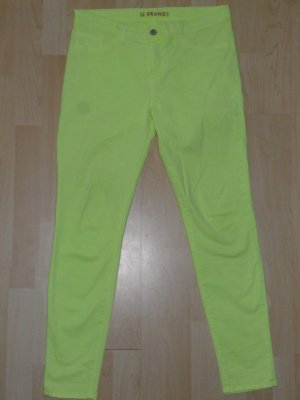 Org. J BRAND Skinny Jeans neon gelb Gr.30 sold out