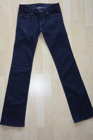 Org. J BRAND straight leg Jeans mit leichtem Schlag in dunkelblau Gr.26