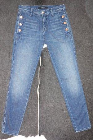 Org. J BRAND Zion mid rise skinny Jeans mit Knöpfen Gr.25