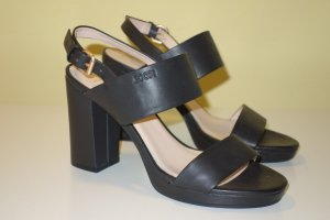 Joop! Platform High-Heeled Sandal black leather