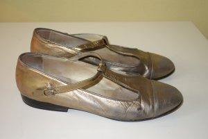 Org. JOOP vintage Ballerinas/Slipper bronze Gr.39