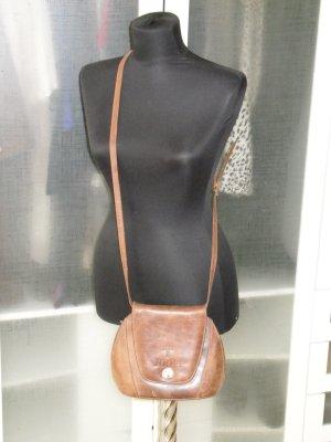 Org. JOOP vintage Leder Umhängetasche braun