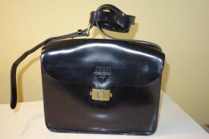 Org. JOOP vintage Umhängetasche/Crossbody bag in schwarz Glattleder