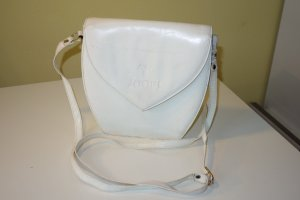 Org. JOOP vintage Umhängetasche/Crossbody bag in weiß Leder