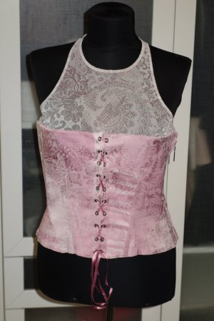 Org. JUST CAVALLI Corsagen-Top in rosa Gr.38