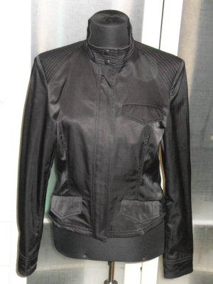 Org. KOOKAI Jacke im Biker-Stil schwarz Gr.40