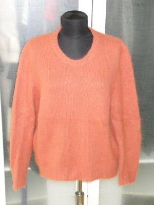 Org. LALA Berlin oversize Pullover aus Angora orange Gr.S