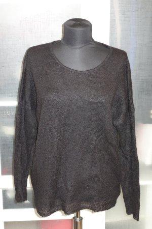 Org. LALA Berlin oversized Pullover in schwarz Gr.S