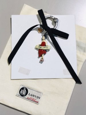 "Org. LANVIN ""Miss LANVIN"" Key Chain limitiert NEU+Dustbag"