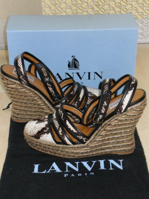 Lanvin High-Heeled Sandals multicolored
