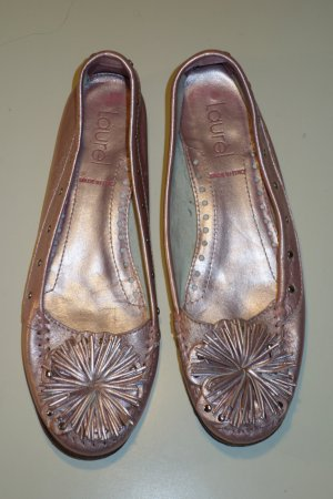 Org. LAUREL Ballerinas in rosa metallic Gr.37