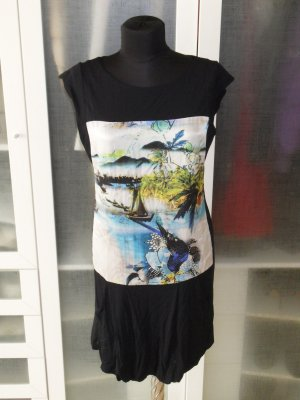 Org. LAUREL Jersey Kleid mit Print Gr.38