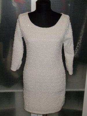 Org. LAUREL vintage Kleid Tweed/Bouclé Gr.38 mit Lurex