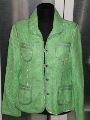 Org. LAUREL Woll-Blazer in grün Gr.40