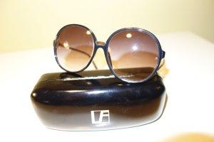 Linda farrow luxe Zonnebril zwart-goud