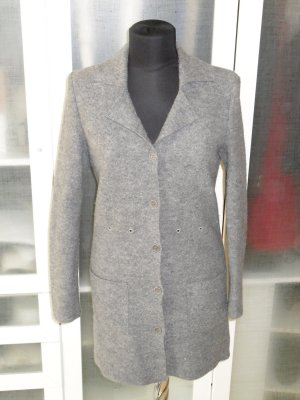 Org. LIU JO Collection long Strickjacke grau Gr.36