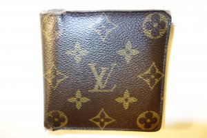 Org. LOUIS VUITTON Florin Geldbörse Monogram Canvas