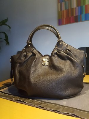 Org.Louis Vuitton Mahina Bag L Chocolate wie neu m.Rechnung