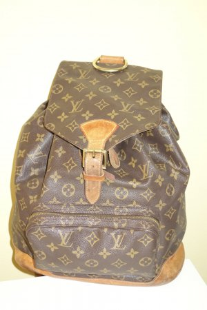 Org. LOUIS VUITTON Montsouris GM vintage Rucksack Monogram Canvas top