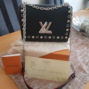 Louis Vuitton Bolso barrel negro Cuero