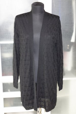 Org. M MISSONI long Cardigan schwarz Gr.40