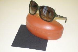 Org. M MISSONI oversized Sonnenbrille dunkelgrün inkl. Etui