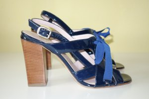 Marc by Marc Jacobs High-Heeled Sandals dark blue