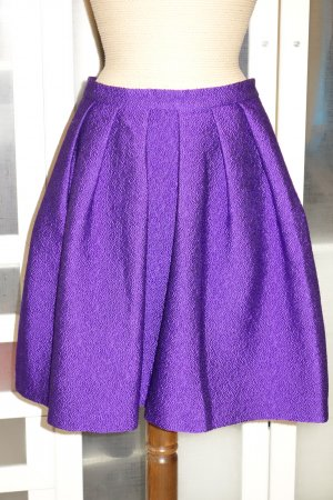 Marc Cain Flared Skirt lilac