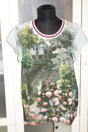 Org. MARC CAIN Seiden-Shirt mit Print Gr. 40