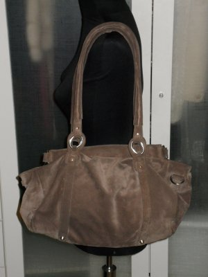 Org. MARC O'POLO Wildleder Tasche in mauve