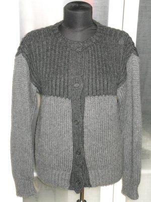 Marni Cardigan a maglia grossa grigio-antracite Lana