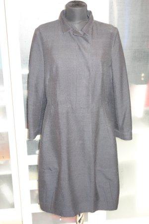 Org. MARNI Mantel aus Seide dunkelblau Gr.40/42