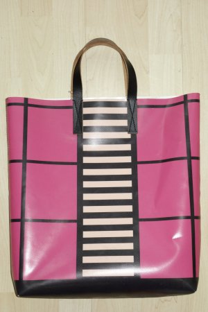 Org. MARNI Shopper aus Lkw Plane colour blocking NEU+Etikett