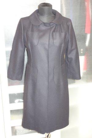 Marni Wollen jas donkerblauw