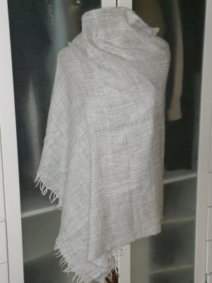 Max Mara Wollen sjaal lichtgrijs