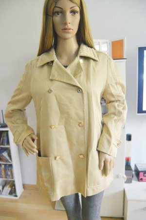 org. MCM blazer jacket beige/gold gr.38 seide