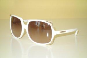 Org. MICHAEL KORS oversized Sonnenbrille MKS523 weiß/gold inkl.Etui