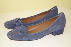 Org. MICHAEL KORS Pumps aus Wildleder in dunkelblau Gr.38 top
