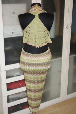 Org. MISSONI Kleid mit Top rückenfrei sexy Gr.38/40