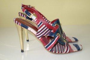 Missoni High-Heeled Sandals multicolored
