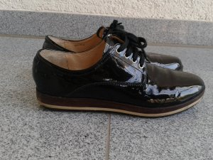org.Miu Miu Lackleder Schuhe schwarz Gr.38 top