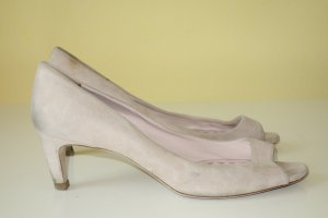 Org. MIU MIU Peeptoes in nude 39,5