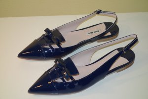 Org. MIU MIU Sandaletten aus Lackleder NEU Gr.38,5